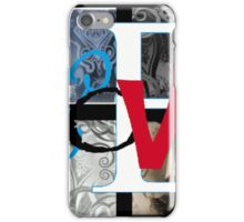 AT LAST (BLOCK 4: WORD 'LOVE') - MIX AND MATCH!!! iPhone Case/Skin