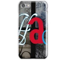 AT LAST (BLOCK 5: WORD 'HAS') - MIX AND MATCH!!! iPhone Case/Skin