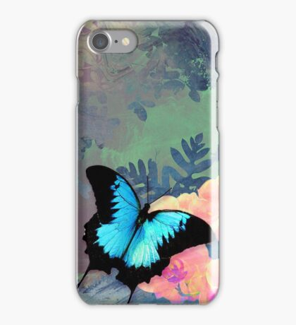 Rainforest Butterfly iPhone Case/Skin