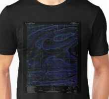 USGS TOPO Map Arkansas AR Ione 258810 1987 24000 Inverted Unisex T-Shirt