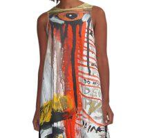 the artist A-Line Dress