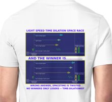 Science - Time Dilation Unisex T-Shirt