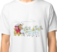 A cockroach driving a stagecoach Classic T-Shirt