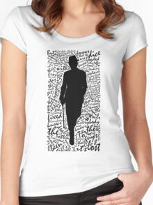 Everybody Knows Women's Fitted Scoop T-Shirt