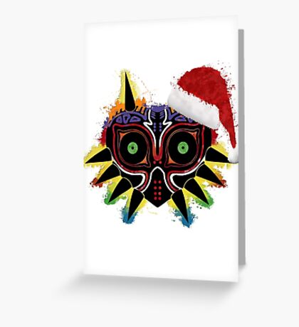Majora's Splat ~ v. Christmas Greeting Card