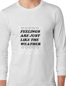 Marina Lyric  Long Sleeve T-Shirt