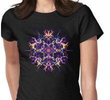 Creativity Quickening - Energetic Geometry Mystic Mandala. Womens Fitted T-Shirt