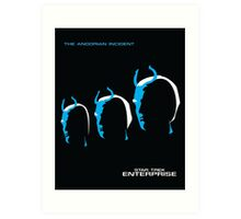 Enterprise   The Andorian Incident Art Print