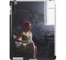 Young woman with dreadlocks wearing corset iPad Case/Skin