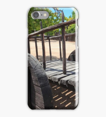 Mission yard iPhone Case/Skin
