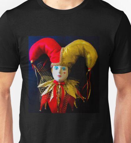 Jester Clown Doll Unisex T-Shirt