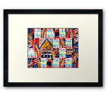 Persian Puzzle Framed Print