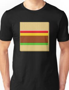 Box Hamburger Unisex T-Shirt