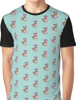Winnie the Flower Bear Dog Graphic T-Shirt