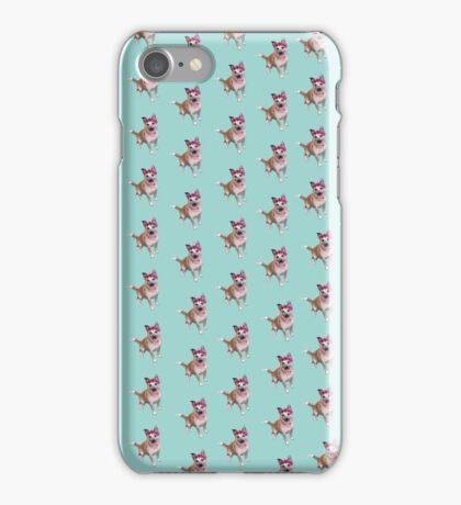 Winnie the Flower Bear Dog iPhone Case/Skin