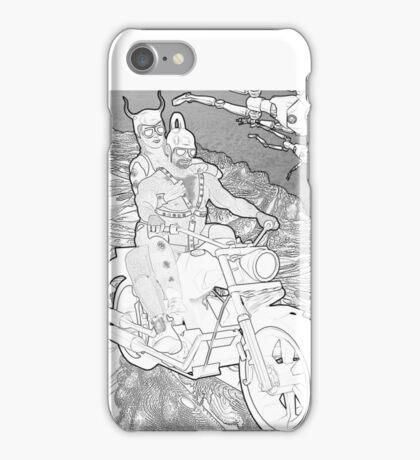 SolarPunk Space Bikers iPhone Case/Skin