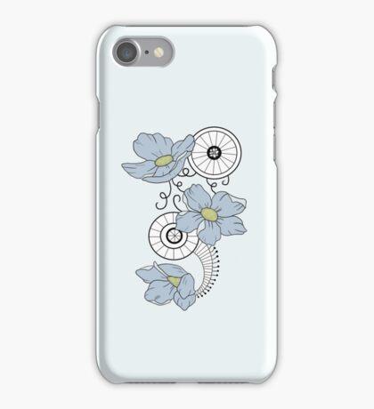 Blue Flower Mandala iPhone Case/Skin