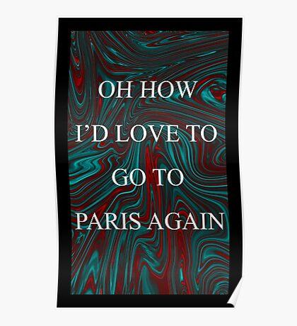 Paris - The 1975 Poster