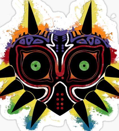 Majora's Splat ~ v. 3d Sticker