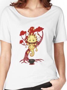 cute little dragon fire Women's Relaxed Fit T-Shirt