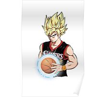 Goku is Sixers Player Poster