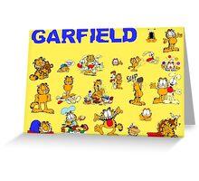 GARFIELD 3 Greeting Card