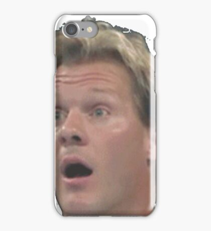 Chris Jericho is suprised iPhone Case/Skin