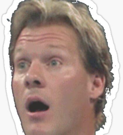 Chris Jericho is suprised Sticker