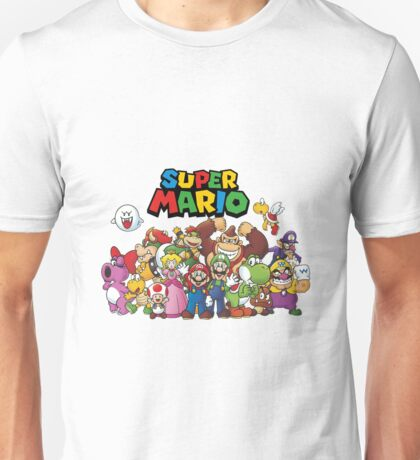 super mario all characters Unisex T-Shirt