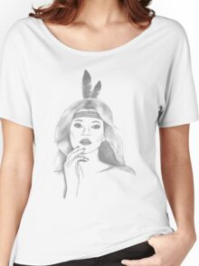 feather girl Women's Relaxed Fit T-Shirt