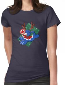 Water Reindeer Womens Fitted T-Shirt