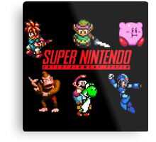 super nintendo video game Metal Print