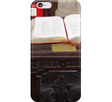 In An Emergency Read The Book iPhone Case/Skin