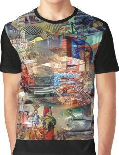 Science Fiction Graphic T-Shirt