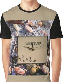 Tides Turn, Time Forever Flees Away Graphic T-Shirt