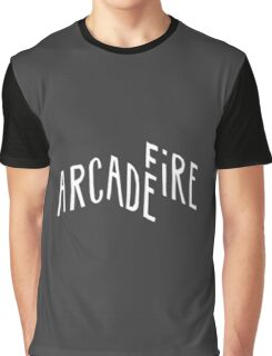 arcade fire logo Graphic T-Shirt