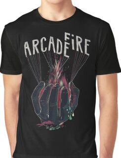 arcade fire - hand Graphic T-Shirt