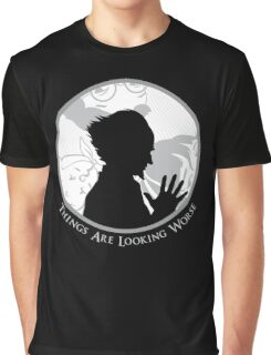 Count-Olaf Villain Baudelaire Orphans A Series of Unfortunate Events T-Shirt Graphic T-Shirt