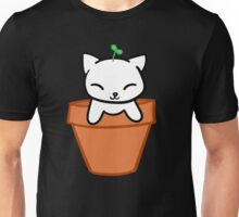 Potted Cat Unisex T-Shirt