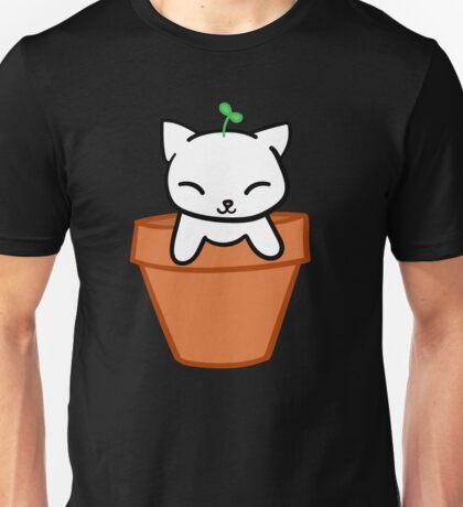 Potted Cat Unisex T-Shirt
