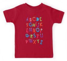 Monster Alphabet Kids Tee