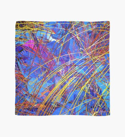 Abstract Fireworks Scarf