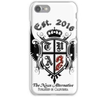 The News Alternative-Published in California iPhone Case/Skin