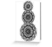 Progress Mandala Greeting Card