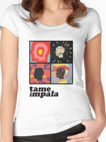 TAME IMPALA - HEADS Women's Fitted Scoop T-Shirt
