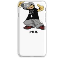 Phil from The Nutshack iPhone Case/Skin