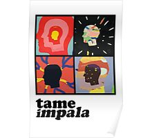 TAME IMPALA - HEADS Poster