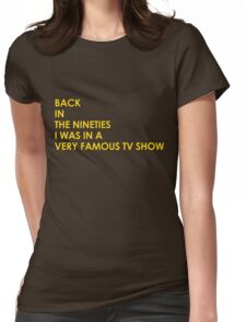 Back In The 90s Womens Fitted T-Shirt
