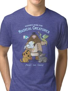 Hagrid's Home for Magical Creatures Tri-blend T-Shirt