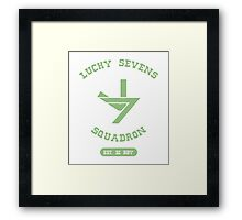 Lucky Gym Framed Print